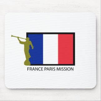 FRANCE PARIS MISSION LDS CTR MOUSE PAD