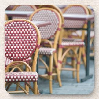 FRANCE, PARIS, Montmartre: Place du Tertre, Cafe Drink Coasters