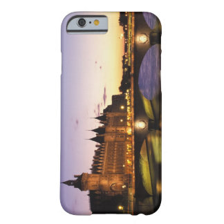 France, Paris, River Seine and Conciergerie at Barely There iPhone 6 Case