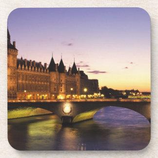 France, Paris, River Seine and Conciergerie at Coasters