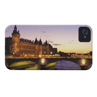 France, Paris, River Seine and Conciergerie at iPhone 4 Cases