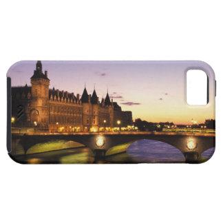 France, Paris, River Seine and Conciergerie at iPhone 5 Cases