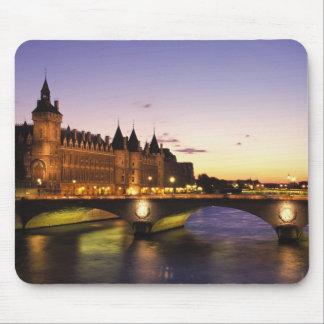 France, Paris, River Seine and Conciergerie at Mouse Pad