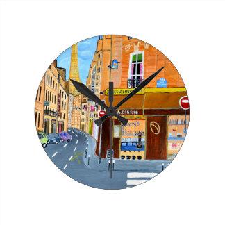 France, Paris,Rue Dominique Clocks