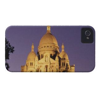 France, Paris, Sacré-Coeur at dusk. iPhone 4 Cases
