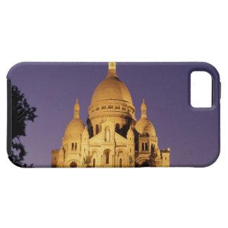 France, Paris, Sacré-Coeur at dusk. iPhone 5 Cover