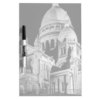 France Paris Sacre Coeur Basilica 1970 Dry-Erase Board