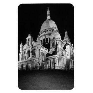 France Paris Sacre Coeur Basilica 1970 Rectangular Photo Magnet