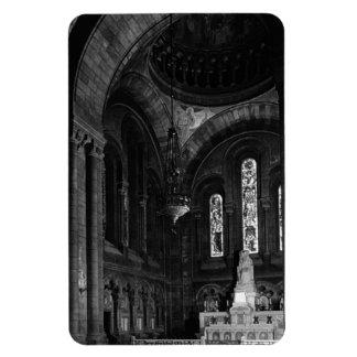 France Paris sacre Coeur virgin chapel 1970 Rectangular Photo Magnet