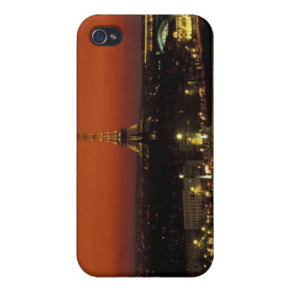 France, Paris Sunset view of Eiffel Tower and iPhone 4 Cover