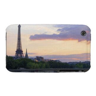 France,Paris,tour boat on River Seine,Eiffel iPhone 3 Case-Mate Case