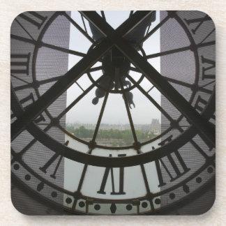 France, Paris. View across Seine River through Coaster