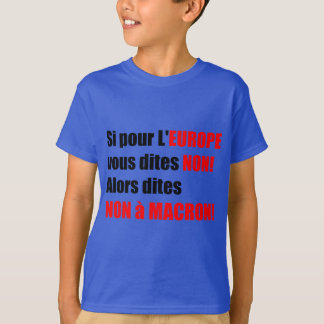 France Presidential Elections 2017 - Blue Kids Tee