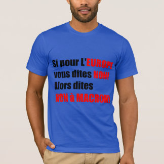 France Presidential Elections 2017 - Blue M Tee