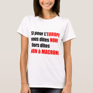 France Presidential Elections 2017 - Women Tee