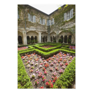 France, Provence, St. Remy-de-Provence. Garden Photographic Print