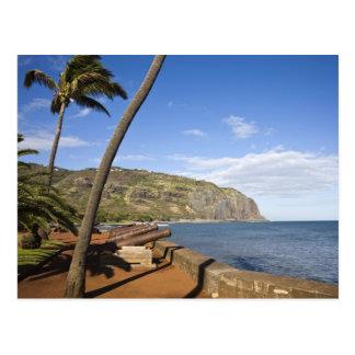 France, Reunion Island, St-Denis, view of La Postcard