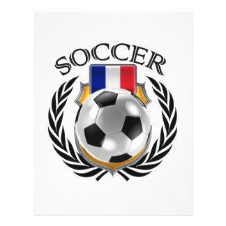 France Soccer 2016 Fan Gear 21.5 Cm X 28 Cm Flyer