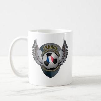 France Soccer Crest Coffee Mugs