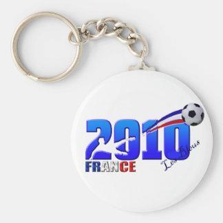France Soccer Les Bleus 2010 flag gifts Key Chains