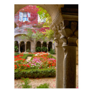 France, St. Remy de Provence, cloisters at Postcard