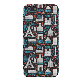 France | Symbols Pattern Case For The iPhone 5