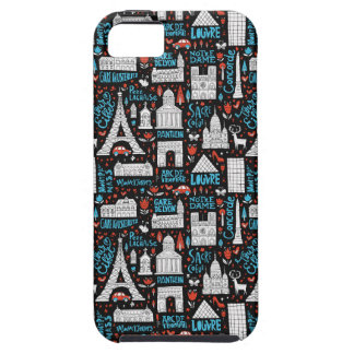 France | Symbols Pattern iPhone 5 Cases