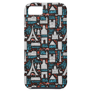 France   Symbols Pattern iPhone 5 Cover