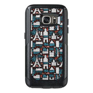 France | Symbols Pattern OtterBox Samsung Galaxy S7 Case