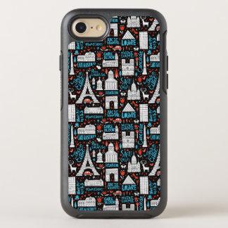 France | Symbols Pattern OtterBox Symmetry iPhone 8/7 Case