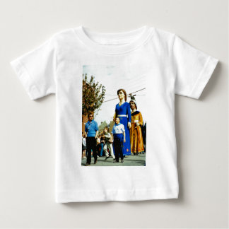 France, the Flanders Giants on Parade Baby T-Shirt