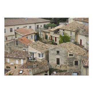 France, Vaison la Romaine. Looking down on Photo