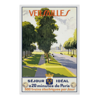 France Versailles Poster
