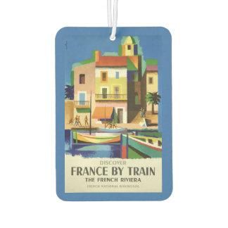 FRANCE Vintage Travel air freshner Car Air Freshener