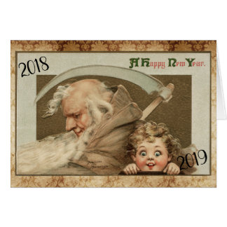 Frances Brundage New Year Card