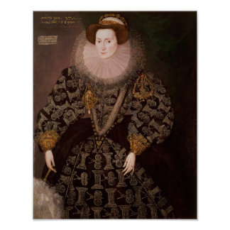 Frances Clinton, Lady Chandos , 1589 Poster