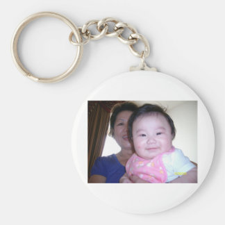 Francesca's and Sophia Elain's  Collections Basic Round Button Key Ring