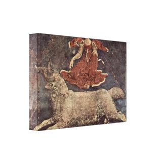 Francesco del Cossa - Allegory of Spring Gallery Wrap Canvas