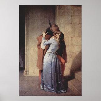 Francesco Hayez Kiss Poster
