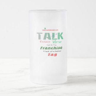franchise - glass frosted glass mug