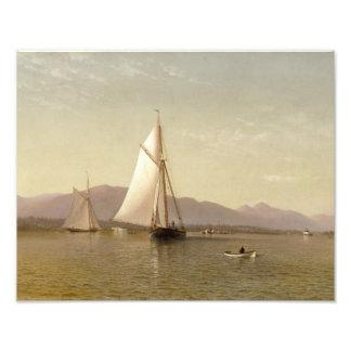 Francis Augustus Silva - The Hudson at the Tappan Art Photo