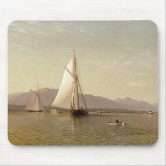 Francis Augustus Silva - The Hudson at the Tappan Mouse Pad