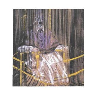 Francis Bacon - Screaming Popes Notepad