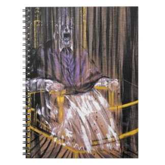 Francis Bacon - Screaming Popes Spiral Notebook