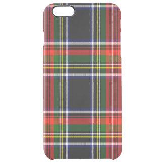 Francis Scottish Tartan Clear iPhone 6 Plus Case