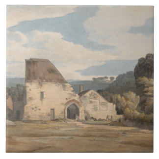 Francis Towne - Dunkerswell Abbey Tile