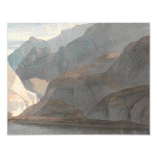 Francis Towne - On the Lake of Como Photo Print