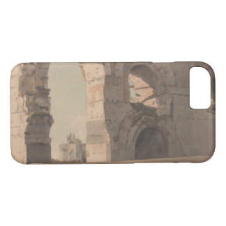 Francis Towne - The Claudian Aquaduct, Rome iPhone 8/7 Case