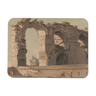 Francis Towne - The Claudian Aquaduct, Rome Magnet