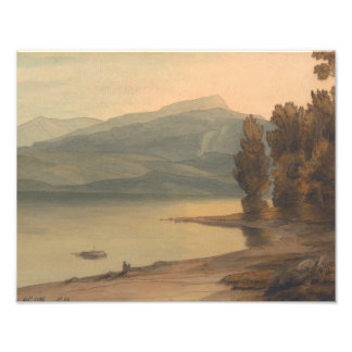 Francis Towne - Windermere at Sunset Photo Print